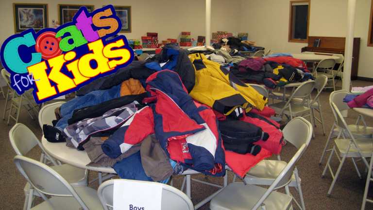 Coats For Kids on October 30th